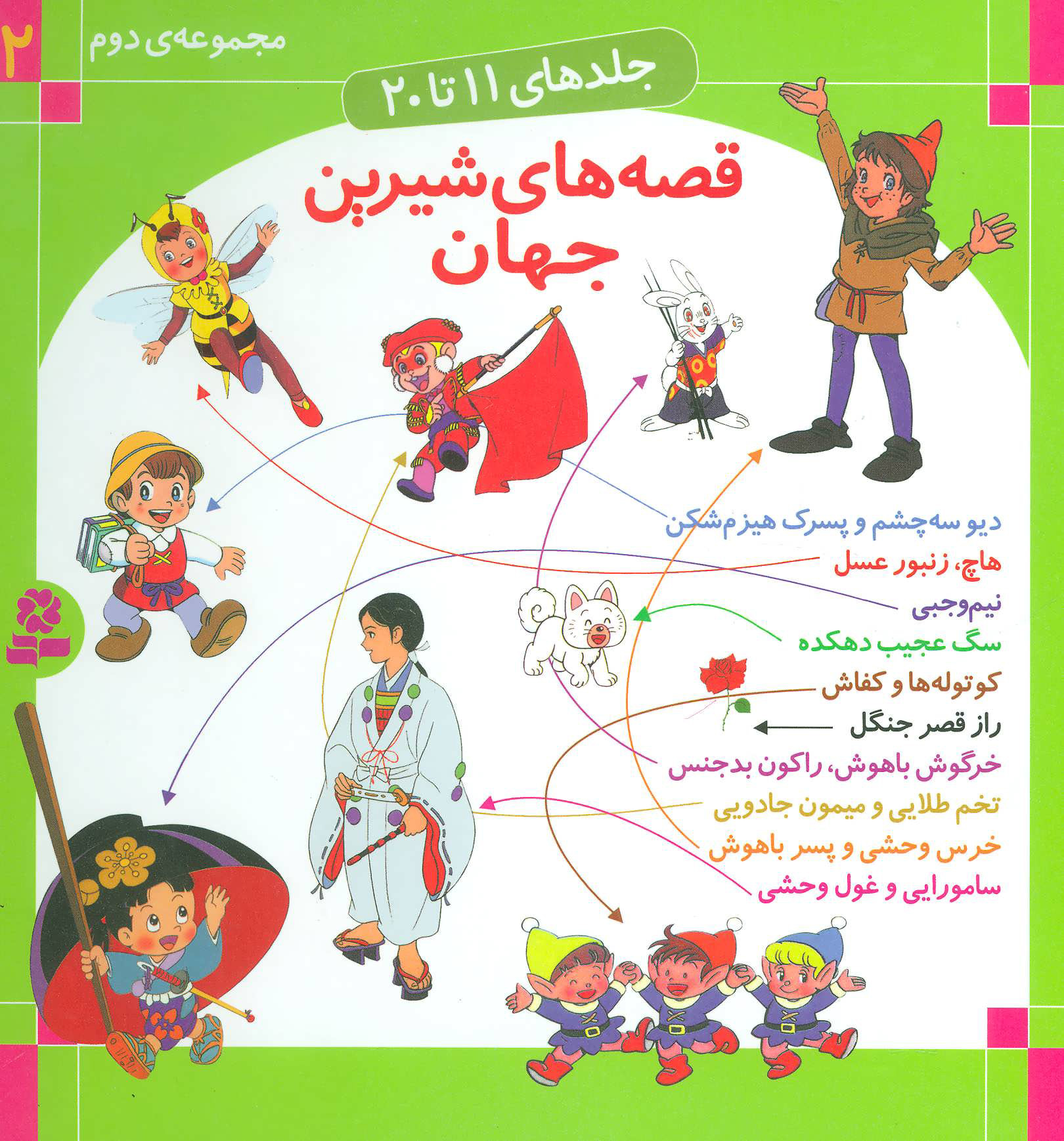 کتاب مجموعه قصه های شیرین جهان 2