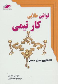 کتاب قوانین طلایی کار تیمی