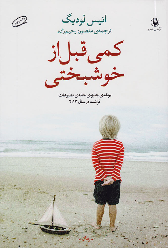 کتاب کمی قبل از خوشبختی
