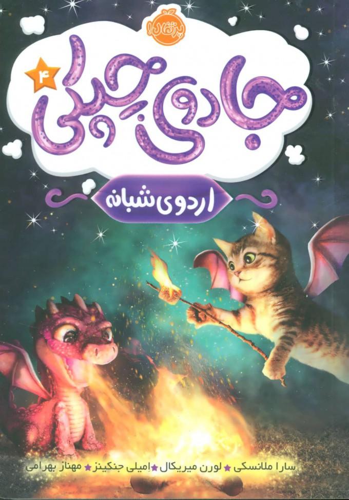 کتاب جادوی چپکی - اردوی شبانه