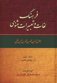 کتاب فرهنگ لغات و تعبیرات مثنوی